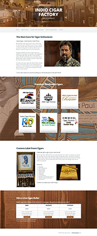 indiocigars.com screenshot